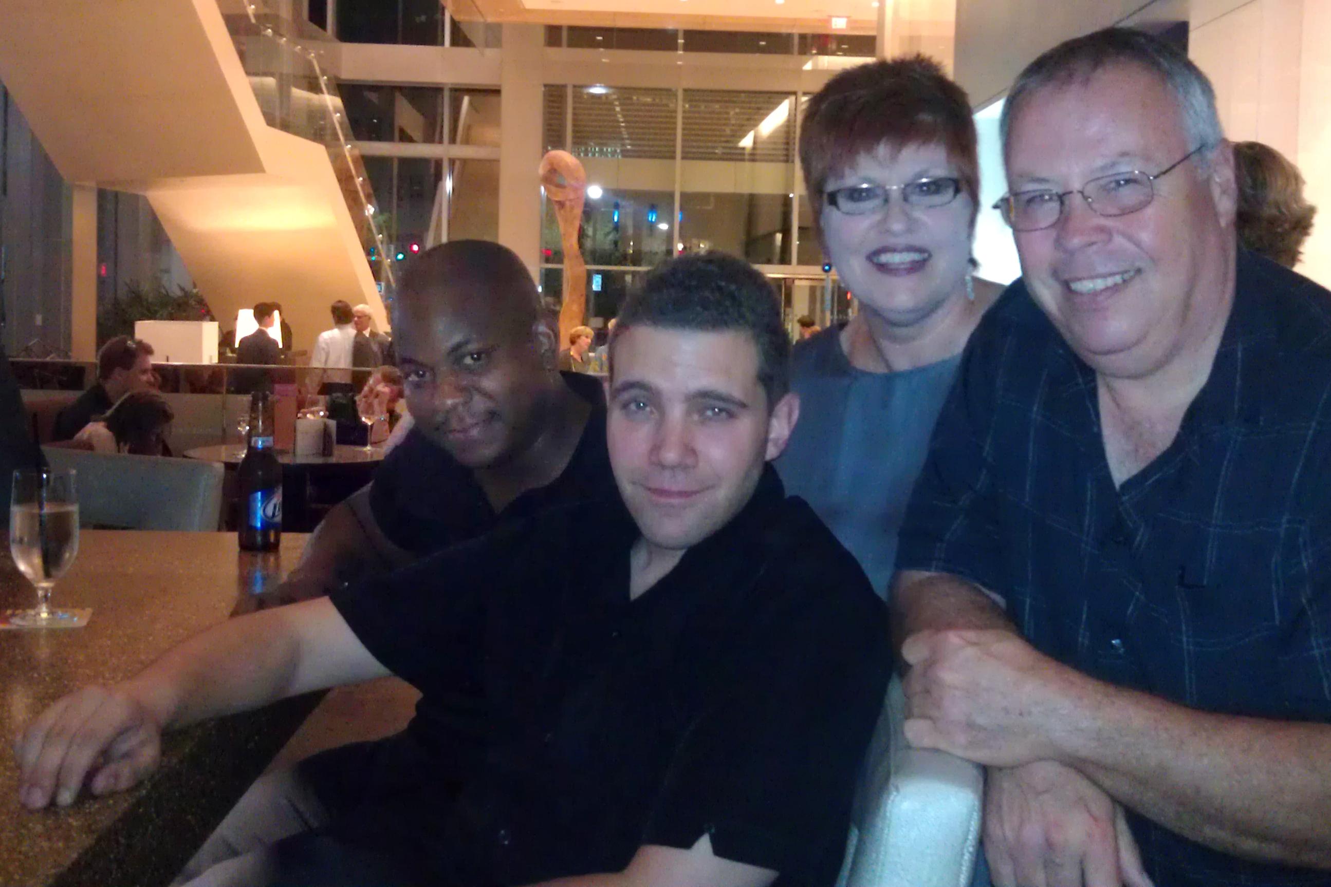 With James Johnson, III, Tony DePaolis, and Jeff Lashway