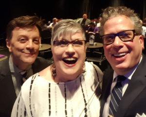With Billy Stritch & Jim Caruso at Pittsburgh Caberet