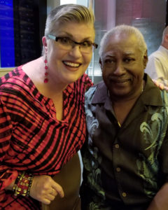 Performing with Roger Humphries, Sr, at Andys
